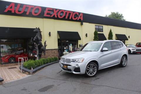 2017 BMW X3 for sale at Auto Exotica in Red Bank NJ