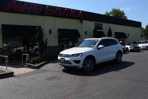 2016 Volkswagen Touareg for sale at Auto Exotica in Red Bank NJ