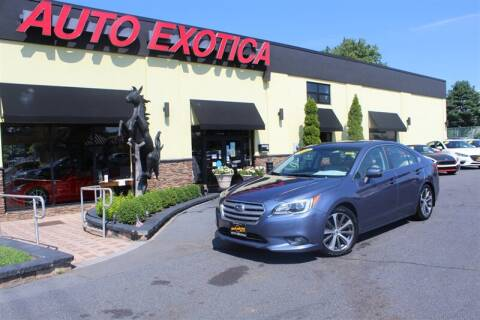 2016 Subaru Legacy for sale at Auto Exotica in Red Bank NJ