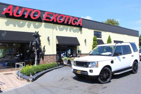 2016 Land Rover LR4 for sale at Auto Exotica in Red Bank NJ