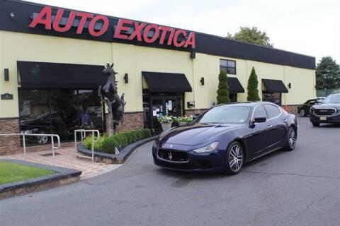 2015 Maserati Ghibli for sale at Auto Exotica in Red Bank NJ