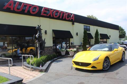 2016 Ferrari California T for sale at Auto Exotica in Red Bank NJ