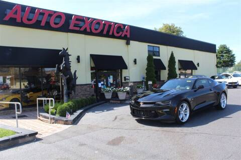 2016 Chevrolet Camaro for sale at Auto Exotica in Red Bank NJ