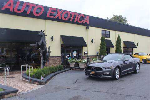 2015 Ford Mustang for sale at Auto Exotica in Red Bank NJ