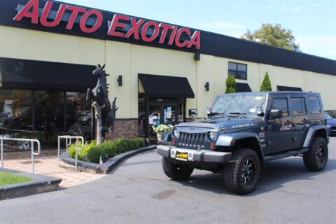 2008 Jeep Wrangler Unlimited for sale at Auto Exotica in Red Bank NJ
