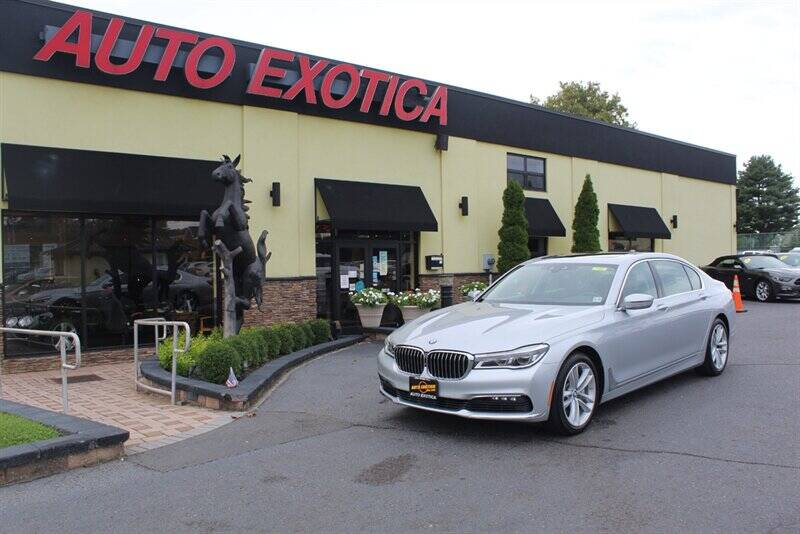 2016 BMW 7 Series for sale at Auto Exotica in Red Bank NJ