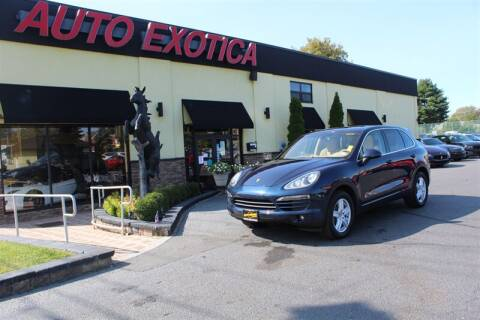 2012 Porsche Cayenne for sale at Auto Exotica in Red Bank NJ