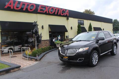 2011 Lincoln MKX for sale at Auto Exotica in Red Bank NJ