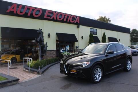 2018 Alfa Romeo Stelvio for sale at Auto Exotica in Red Bank NJ