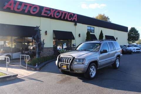 2001 Jeep Grand Cherokee for sale at Auto Exotica in Red Bank NJ