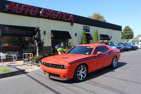 2016 Dodge Challenger for sale at Auto Exotica in Red Bank NJ