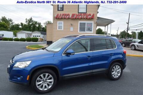2009 Volkswagen Tiguan for sale at Auto Exotica in Red Bank NJ