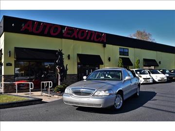 2006 Lincoln Town Car for sale in Red Bank, NJ