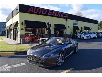 2013 Aston Martin V8 Vantage for sale in Red Bank, NJ
