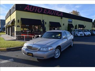2004 Lincoln Town Car for sale in Red Bank, NJ