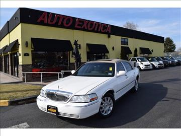 2007 Lincoln Town Car for sale in Red Bank, NJ