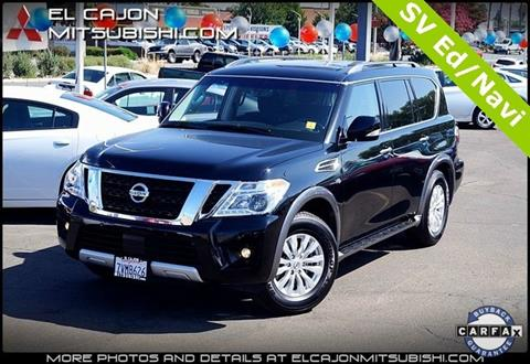 2017 Nissan Armada for sale in San Diego, CA