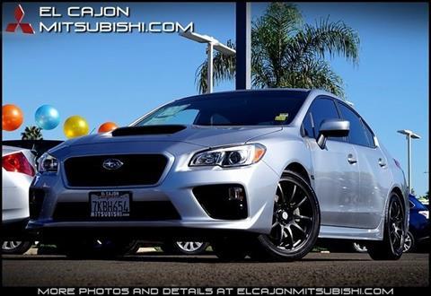 2015 Subaru WRX for sale in San Diego, CA