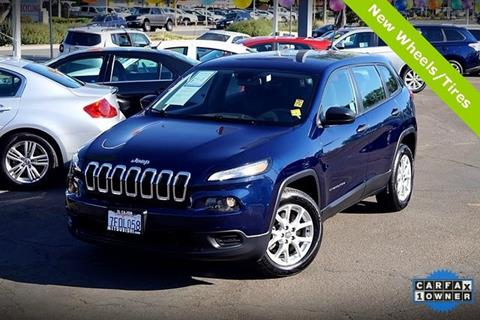 2014 Jeep Cherokee for sale in San Diego, CA
