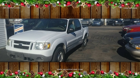2001 Ford Explorer Sport Trac for sale at ABC AUTO CLINIC - Chubbuck in Chubbuck ID