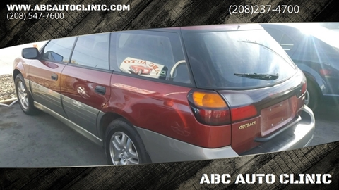 2003 Subaru Outback for sale at ABC AUTO CLINIC - Chubbuck in Chubbuck ID