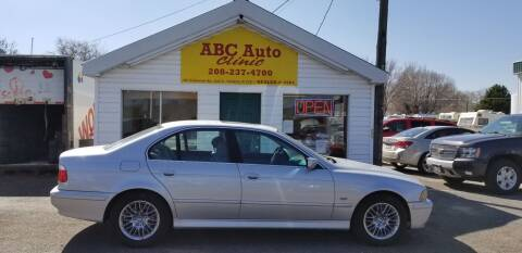 2001 BMW 5 Series for sale at ABC AUTO CLINIC - Chubbuck in Chubbuck ID