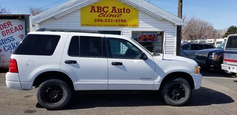 2005 Ford Explorer for sale at ABC AUTO CLINIC - Chubbuck in Chubbuck ID
