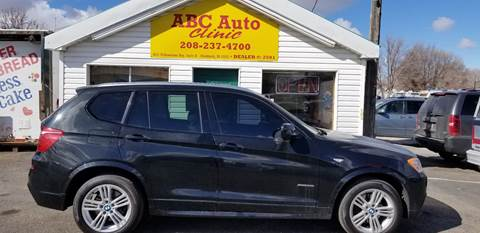 2011 BMW X3 for sale at ABC AUTO CLINIC - Chubbuck in Chubbuck ID