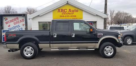 2008 Ford F-250 Super Duty Lariat for sale at ABC AUTO CLINIC - Chubbuck in Chubbuck ID