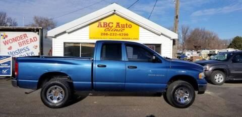 2005 Dodge Ram Pickup 1500 SLT for sale at ABC AUTO CLINIC - Chubbuck in Chubbuck ID