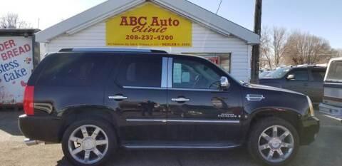 2008 Cadillac Escalade for sale at ABC AUTO CLINIC - Chubbuck in Chubbuck ID