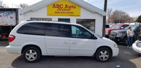 2005 Dodge Grand Caravan SXT for sale at ABC AUTO CLINIC - Chubbuck in Chubbuck ID