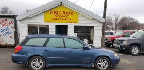 2005 Subaru Legacy 2.5i for sale at ABC AUTO CLINIC - Chubbuck in Chubbuck ID