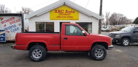 1991 Chevrolet C/K 1500 Series K1500 for sale at ABC AUTO CLINIC - Chubbuck in Chubbuck ID
