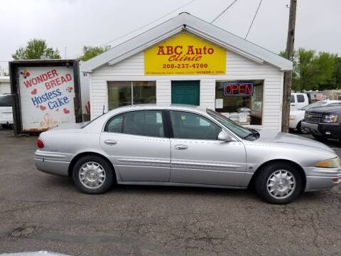 2002 Buick LeSabre for sale at ABC AUTO CLINIC - Chubbuck in Chubbuck ID