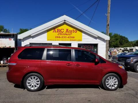 2012 Toyota Sienna for sale at ABC AUTO CLINIC - Chubbuck in Chubbuck ID