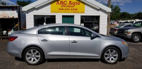 2011 Buick LaCrosse for sale at ABC AUTO CLINIC - Chubbuck in Chubbuck ID