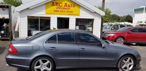 2008 Mercedes-Benz E-Class for sale at ABC AUTO CLINIC - Chubbuck in Chubbuck ID