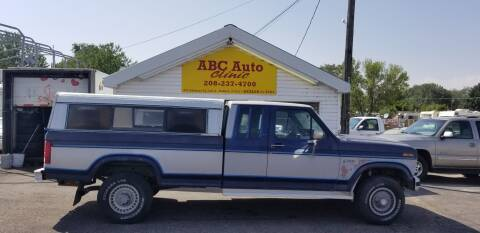 1985 Ford F-250 for sale at ABC AUTO CLINIC - Chubbuck in Chubbuck ID
