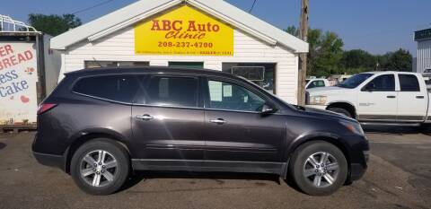 2015 Chevrolet Traverse for sale at ABC AUTO CLINIC - Chubbuck in Chubbuck ID