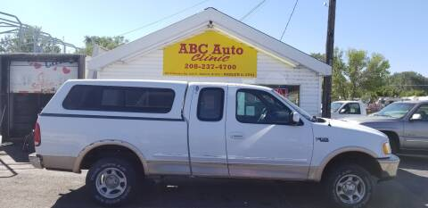 1997 Ford F-150 for sale at ABC AUTO CLINIC - Chubbuck in Chubbuck ID