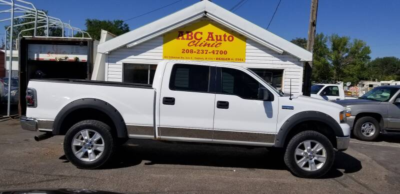 2006 Ford F-150 for sale at ABC AUTO CLINIC - Chubbuck in Chubbuck ID