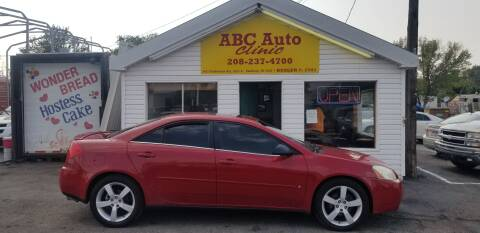 2006 Pontiac G6 for sale at ABC AUTO CLINIC - Chubbuck in Chubbuck ID