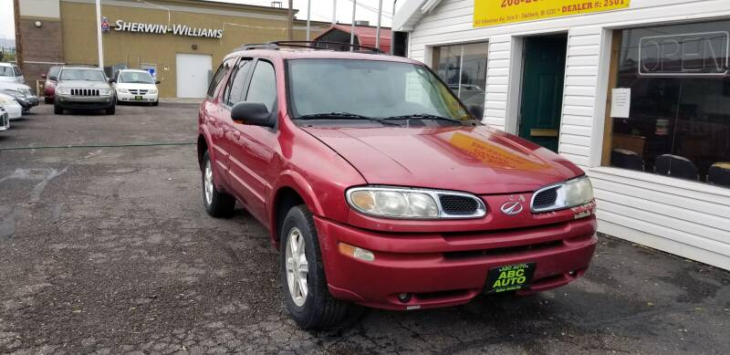 2002 Oldsmobile Bravada for sale at ABC AUTO CLINIC - Chubbuck in Chubbuck ID
