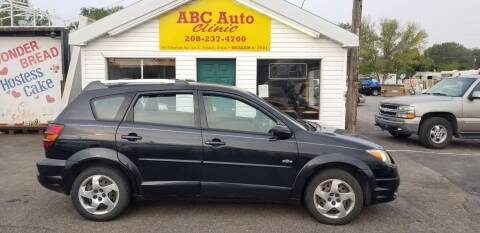 2004 Pontiac Vibe for sale at ABC AUTO CLINIC - Chubbuck in Chubbuck ID