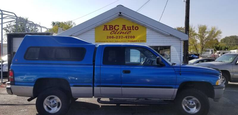 1998 Dodge Ram Pickup 1500 for sale at ABC AUTO CLINIC - Chubbuck in Chubbuck ID