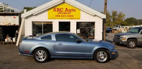 2005 Ford Mustang for sale at ABC AUTO CLINIC - Chubbuck in Chubbuck ID