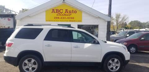 2012 GMC Acadia for sale at ABC AUTO CLINIC - Chubbuck in Chubbuck ID