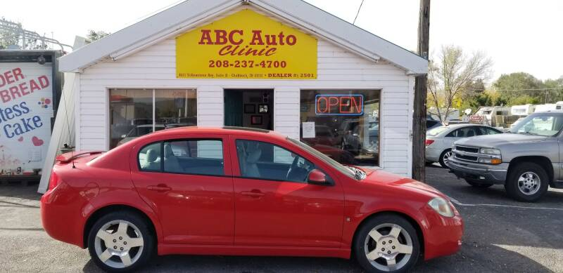 2009 Chevrolet Cobalt for sale at ABC AUTO CLINIC - Chubbuck in Chubbuck ID