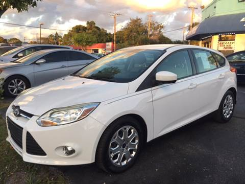 2012 Ford Focus & Ford Used Cars For Sale Lake Worth Dixie Way Auto Plaza markmcfarlin.com